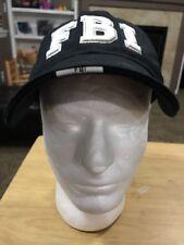 Federal Bureau Investigation FBI Black Baseball Hat Baseball Cap