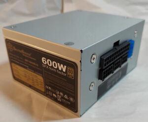 Silverstone SX600-G Semi-Fanless SFX/ATX Modular 80PLUS Gold 600W (OEM PKG)