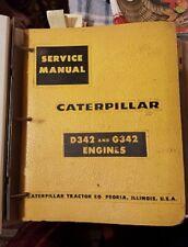 CATERPILLAR SERVICE MANUAL, D342 & G342 ENGINES, 671 pp.