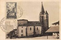 87.n°57686.oradour sur glane.l'eglise.carte maximum