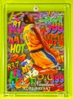 Flair Hot Numbers Kobe Bryant Spectacular Slam Dunk King Lakers Legend Mint Card