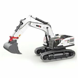 Excavator Commercial Model Modification Machine Alloy Track 1:14 RC Screw Power