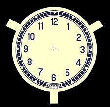 Uhren-Ziffernblatt  Neutral  für VDO/Kienzle