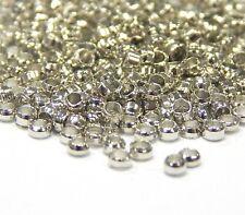 ZC Quetschröhrchen Quetschperlen Silber Gold Kupfer Bronze Oxid 1,5mm 2mm*