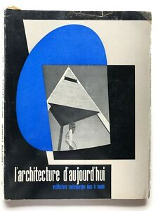 L'architecture d'aujourd'hui n. 52 1954 Rivista Gio Ponti Mies Van Der Rohe raro