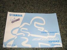 yamaha zuma 50 yw50 workshop manual 2002 2003 2004 2005
