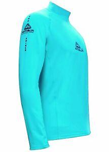 Adrenalin 2P Kids Thermal Shield Long Sleeve Rash Guard - Aqua