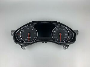 Audi A6 4G C7 Allroad Quattro MPH Speedometer Instrument Cluster Unit 4G9920951D