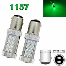 Front Signal 1157 2057 2357 3496 7528 BAY15D P21/5W 92 SMD LED Bulb Green M1 AR