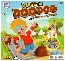 Dodge The Doo Watch Don't Step Blindfold Poo Challenge Kids Board Game Xmas Toys