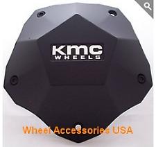 KMC 674 398L212YB003 Center Cap fits all Clone Black Wheels New