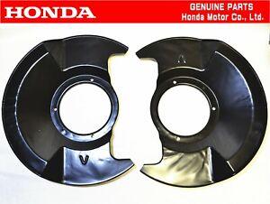 HONDA GENUINE CIVIC EG6 Hatchback SIR Front Brake Splash Dust Guard Cover Set