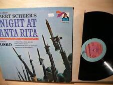 Robert Sheer's A Night At Santa Rita (strongVG Flying Dutchman STEREO Lp)