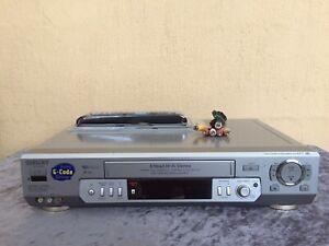 Serviced Sony SLV-EZ77 Hifi Stereo Video Recorder Player REMOTE VCR
