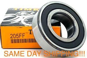 Clutch Pilot Bearing 205FF TIMKEN Bearing 6205 2RS C3 SAME DAY SHIPPING !!!