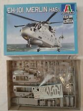 2002 Italeri #1219 Royal Navy Eh-101 Merlin Has.I Helicopter - 1/72 Scale Kit
