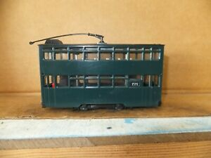 'Peak Horse Toys' HO Double Deck Tram unpowered, no box