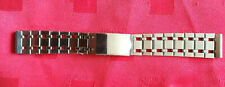 New Rare Band Strap Clasp 1987's Ussr 18mm Stainless Steel Military Wristwatch