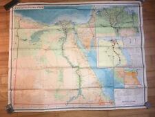 1975 Arab Republic of Egypt Map Scale 1:2 000 000 Israel,  Jordan