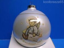 Schmid 1983 Angelic Messenger Glass Christmas Ornament Hummel Angel Iob Vintage