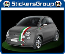 ADESIVI STRISCE ITALIA PER NUOVA FIAT 500 NEW NOVITA