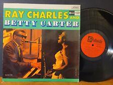 RAY CHARLES & BETTY CARTER Vinyl LP Import France VG+!