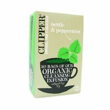 Clipper Organic Infusion Nettle & Peppermint 20Bags (5 Pack)