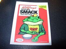 "RON ENGLISH POPAGANDA Cereal Sugar Smack 2.5"" Sticker decal frm poster art print"