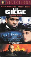 The Siege (Vhs) Denzel Washington, Bruce Willis - Action Thriller!