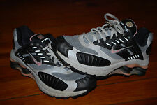 Women's Nike Shox NZ Black Anthracite Pink Reflect Running Shoes (9.5)