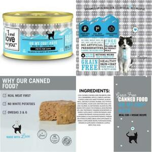 I And Love And You Grain Free Canned Cat Food