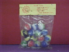 1 bag of Elsie the Cow advertising marbles 50s-60s  vintage old stock Rare