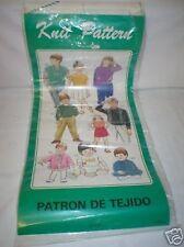 KR7 Patterns-Knitmaster/Empisal/Silver Knitting Machine