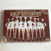 SNSD Visit to Japan New Beginning of Girls' Generation JAPAN DVD Free Shipping