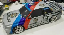 Tamiya 1/10 E30 RC SCHNITZER BMW M3 Completed finished Body in frozen grey