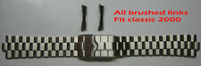20 mm Replacement Brushed Band Fit Heuer Watch Exclusive Classic 2000 WK1110 etc