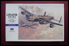 Hasegawa 1/72 Avro Lancaster B MK.I / III Plastic Kit Sealed Bags
