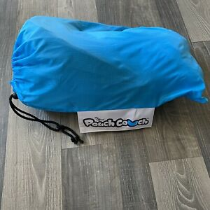 The Official Pouch Couch Blue