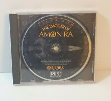 The Dagger of Amon Ra: A Laura Bow Mystery PC CD-Rom 1992 Sierra Adventure Game