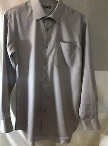 Sm gray long sleeved George shirt Style GM46004