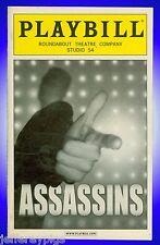Playbill + Assassins + Marc Kudisch , Michael Cerveris , Neil Patrick Harris