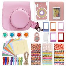 Deluxe Stylish Fun Accessory Kit for Fujifilm Instax Mini 8 Camera Pink
