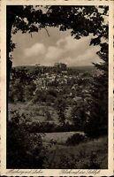Marburg an der Lahn s/w AK ~1920/30 Blick auf das Schloß Panorama ungelaufen