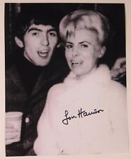Louise Harrison THE BEATLES Signed Autograph 8x10 Photo w/ George Harrison