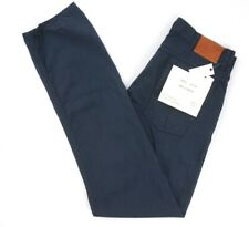 NEW $225 BILLY REID CARBON BLUE GARMENT DYED SLIM 5 POCKET PANTS SIZE 30
