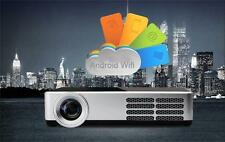 Android4.4 DLP Mini Full 3D Video Projector Home Theater HDMI LED Facebook apps
