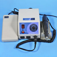 Dental Lab Marathon Micromotor Polisher 35K RPM Handpiece & Pedal Control H-UK