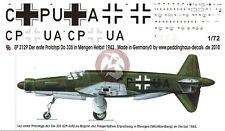 Peddinghaus 1/72 Dornier Do 335 V1 Pfeil Prototype Markings Mengen 1943 2129