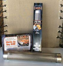 "A-MAZE-N 12"" Tube Wood Pellet Smoker   Smoke Generator  AMAZEN AMAZE LikeTREAGER"