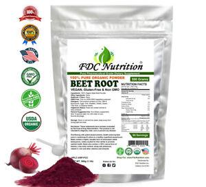 1 LB Organic Beet Root Powder Raw Non GMO Pure Beta Vulgaris Nitric Oxide Booste